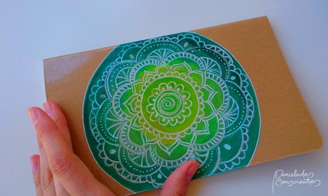 Mandala cuaderno