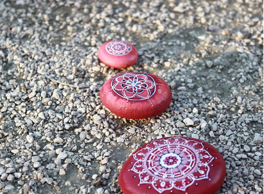 Mandalas rojos