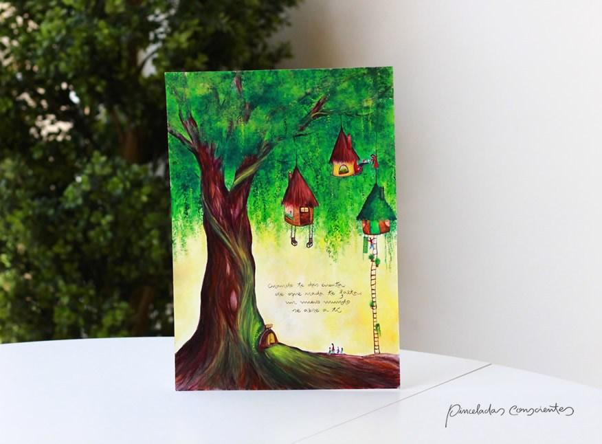 ilustracion-casitas-arbol-din_A4-pinceladas_conscientes