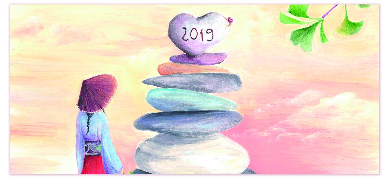 calendario ilustración 2019